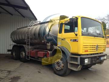 Camion citerne alimentaire