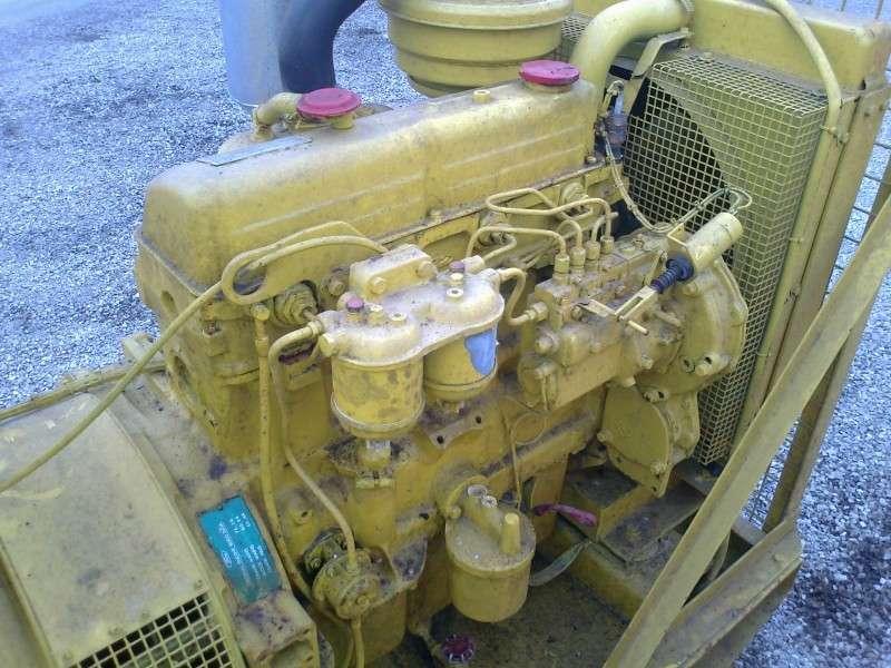 Matériel de chantier SDMO groupe électrogène 40 kVA occasion  n°1576513