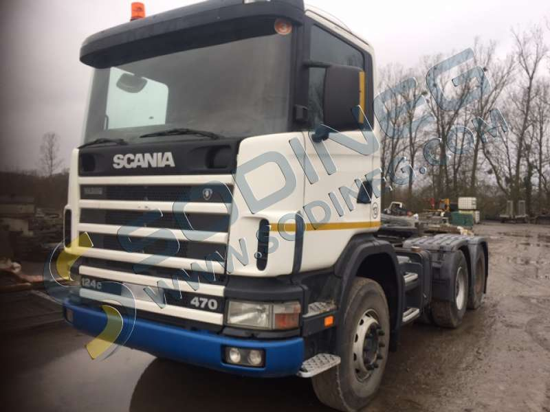 tracteur routier scania 124c 470 d 39 occasion tracteur routier d 39 occasion sodineg france. Black Bedroom Furniture Sets. Home Design Ideas