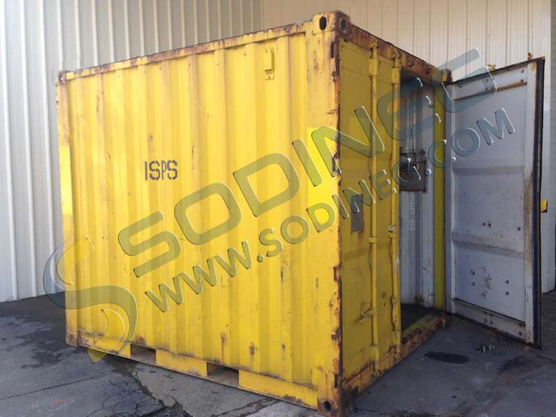 container autre 10 pieds gebraucht container gebraucht sodineg france. Black Bedroom Furniture Sets. Home Design Ideas