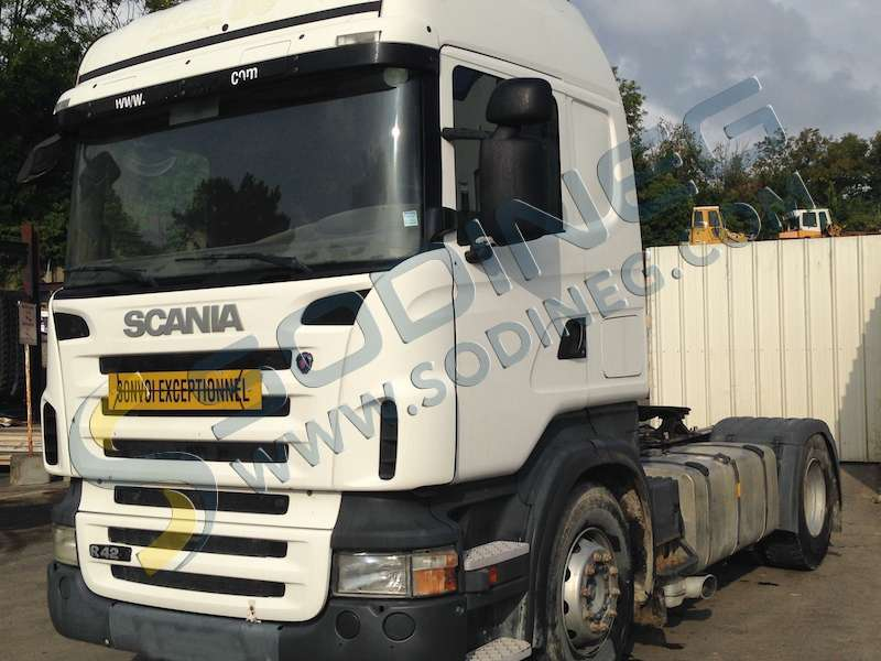 tracteur routier scania r420 d 39 occasion tracteur routier d 39 occasion sodineg france. Black Bedroom Furniture Sets. Home Design Ideas