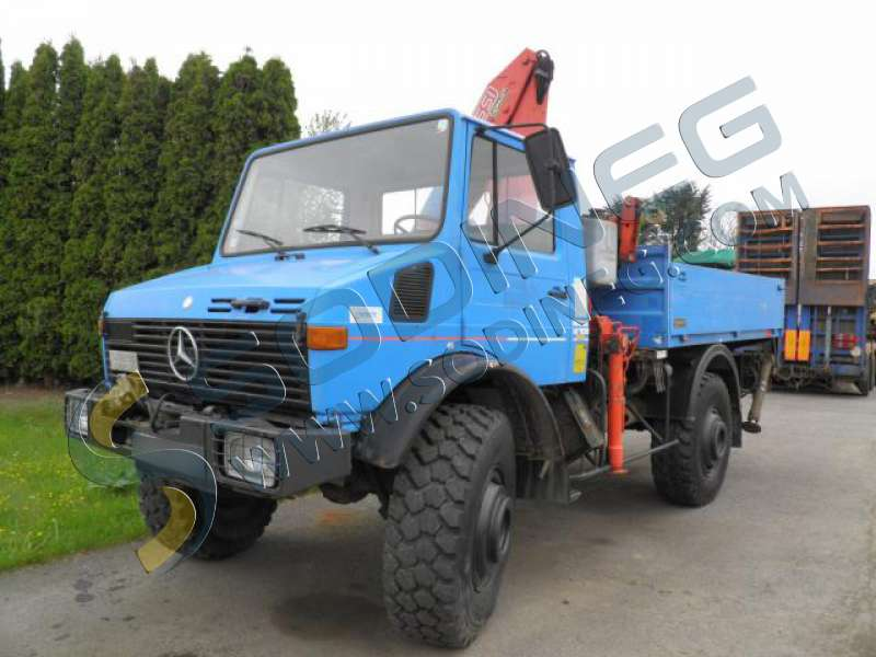 porteur benne mercedes benz unimog 1700 d 39 occasion. Black Bedroom Furniture Sets. Home Design Ideas